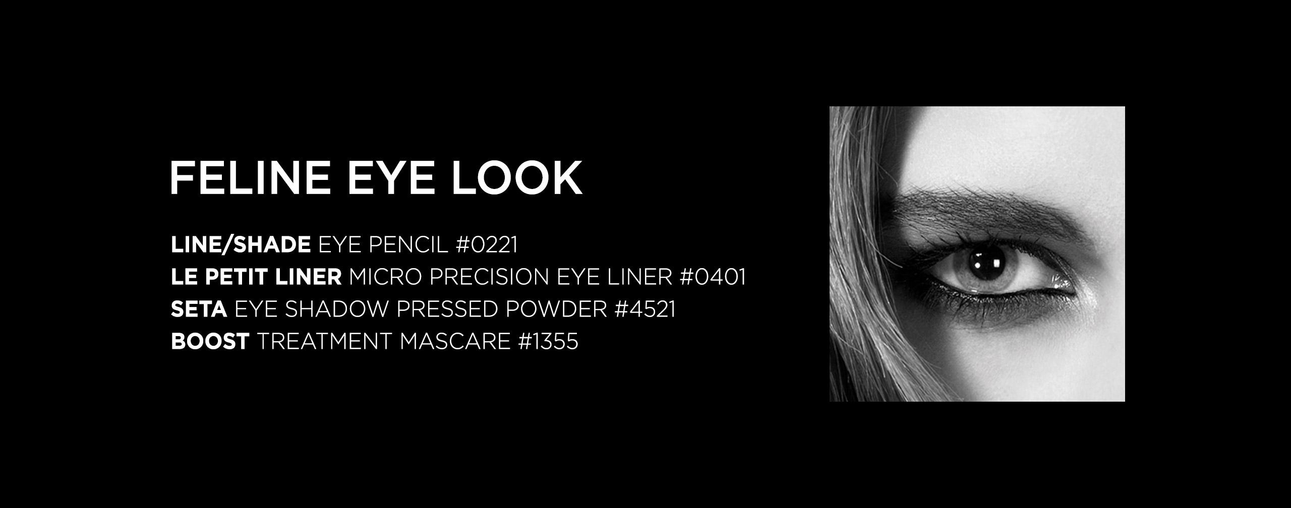 Feline Eye Look