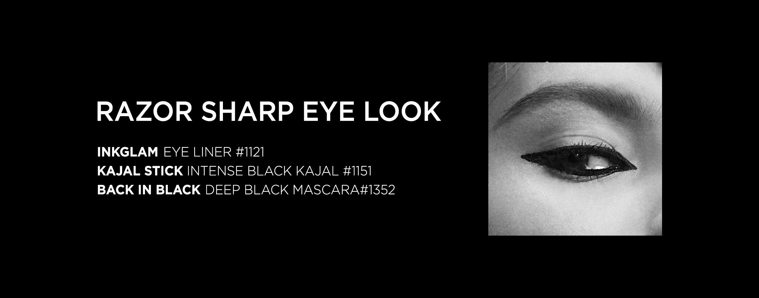 Razor Sharp Eye Liner